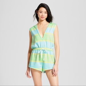 Xhilaration Stripped Sleep Romper